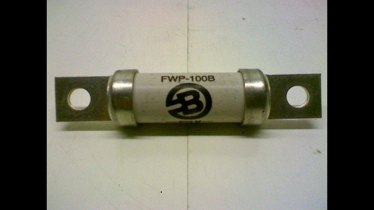 EATON BUSSMANN FWP-100B 100A Ceramic High Speed Semiconductor Fuse 700VAC//DC