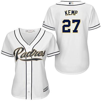 pretty nice fe2c9 6e7a6 Amazon.com : Majestic Matt Kemp San Diego Padres Home ...