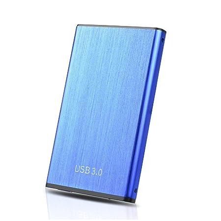2tb, Azul Chromebook Maidix Disco Duro Externo USB 3.0 Disco Duro Externo para Mac PS4,MacBook Xbox PC