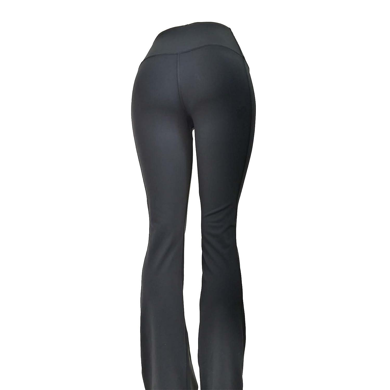 Tummy Slimmer Compression Flare Boot Cut Black Pants