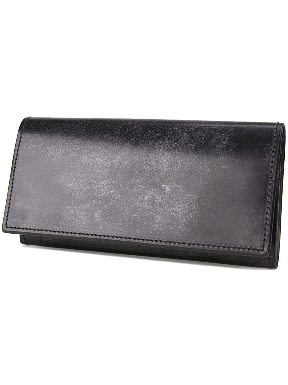 [コルボ] CORBO. メンズ 長財布 二つ折り 1LD-0224 フェイス ブライドルレザー シリーズ face Bridle Leather B0044DHQZGブラック