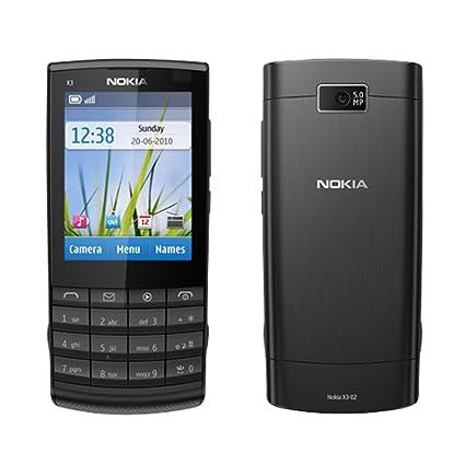amazon com nokia x3 02 touch and type unlocked gsm phone with 5 mp rh amazon com Handy Nokia 02 Nokia X3 in India