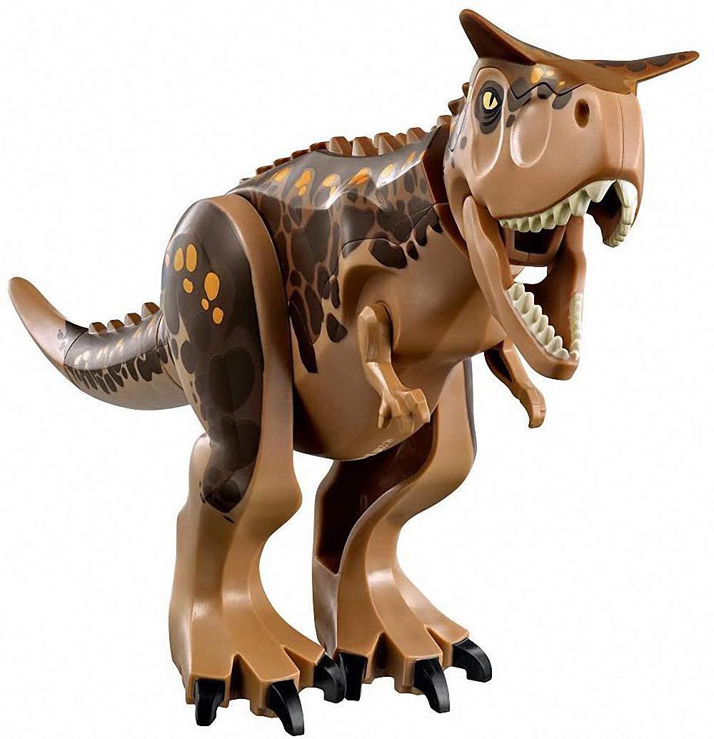 LINYOTEC Carnotaurus Dinosaurier, 28cm Actionfiguren Bauklötze Kinder Geschenk Spielzeug, Dinosaur Building Toy Kids Gift