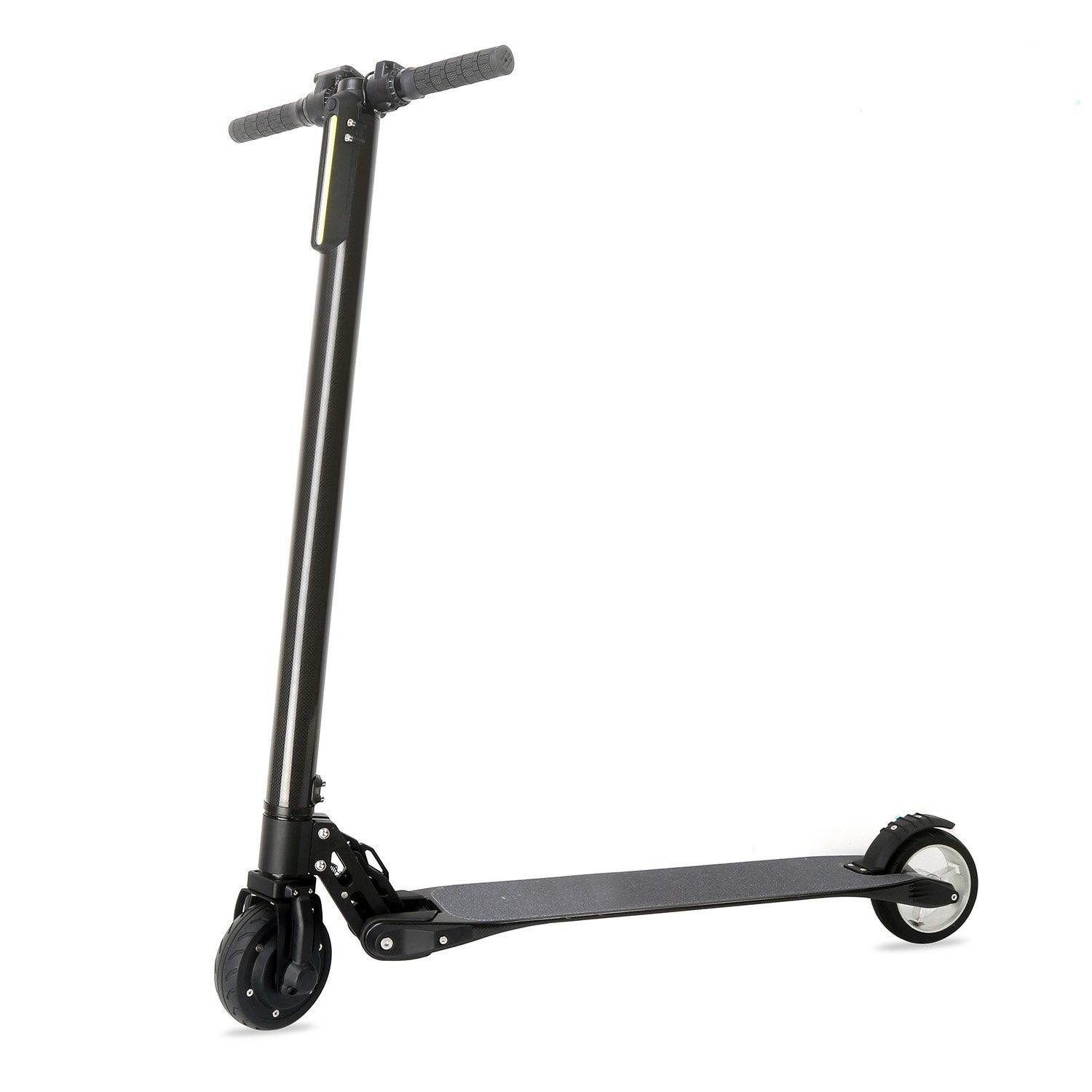 Flying Bird On Wind Carbon Fiber Folding Adult Kick Scooter Electric Scooter Foldable Kick Scooter, World's Lightest Electric Scooter (Black)
