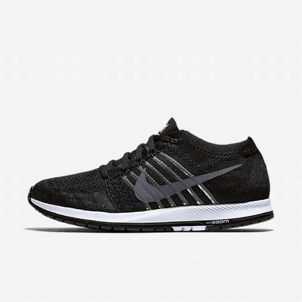 1cc2dbaee0768 Nike Unisex Flyknit Streak Running Shoe (12, Black/Dark Grey/Wht)