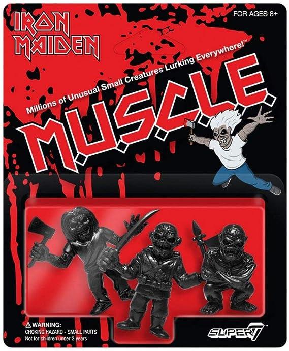 "Iron Maiden Super7 ReAction 3.75/"" Action Figures Eddie Set of 4 Unpunched MOC"