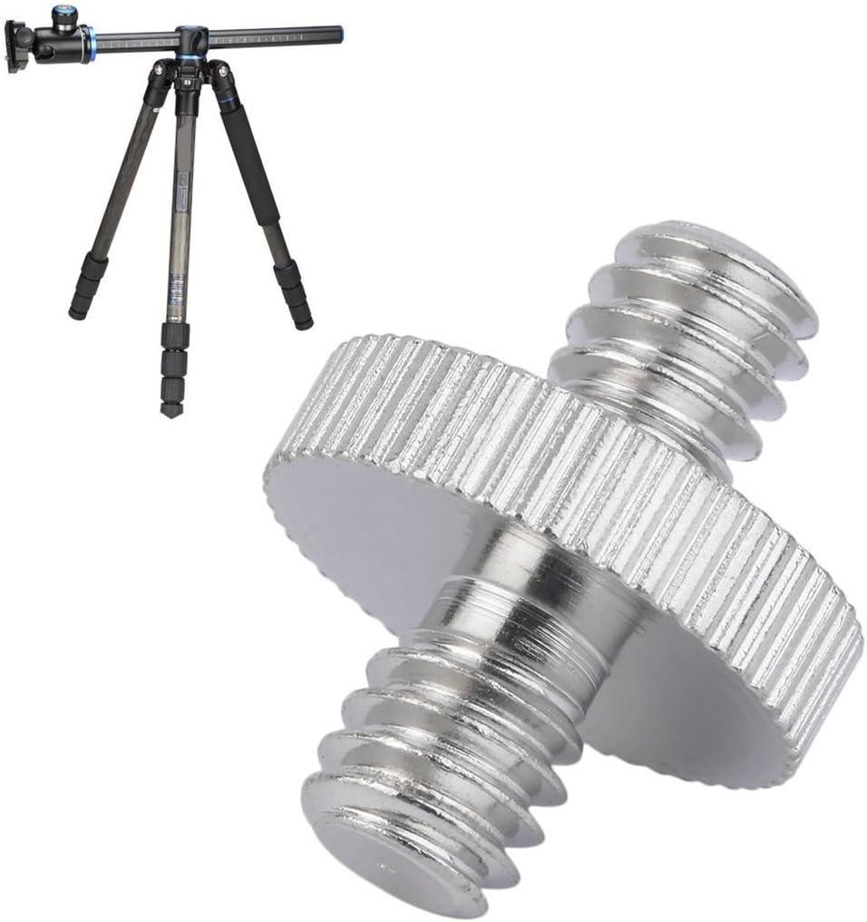 1//4 m/ännlich zu m/ännlich Kamera Schraubadapter f/ür DSLR Stativ Halterung Einbeinstativ//Kugelkopf//Schnellwechselplatte//Blitzlicht St/änder