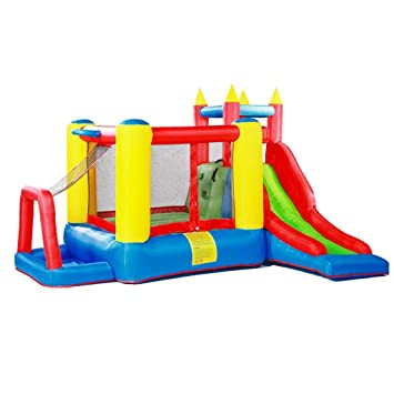 Amazon.com: Castillo hinchable para niños al aire libre para ...