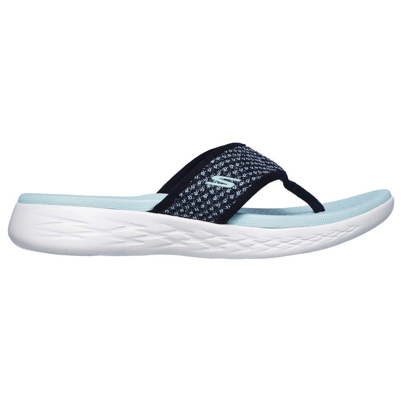 6896b60d5e4b Skechers On The Go 600 Womens Toe Post Sandals  Amazon.co.uk  Shoes   Bags