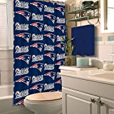 The Northwest Company New England Patriots Shower Curtain