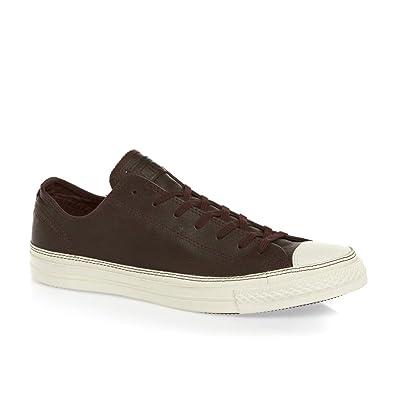 low priced 9536e 59e1a Converse Unisex Chuck Taylor All Star Clean Craft LP II Chocolate Egret  Sneaker Men s 10