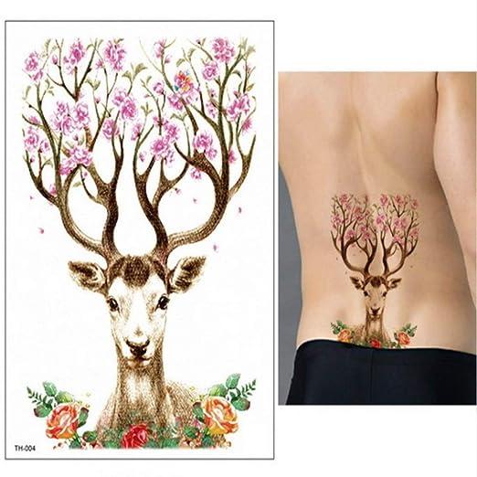 adgkitb 3 Piezas Tatuaje Manga Pegatina Animales Tatuajes ...