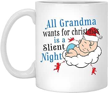 Amazon.com: Christmas Gift Ceramic Mug Silent Night