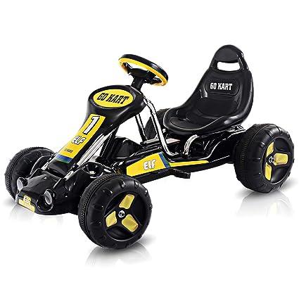 Amazon.com: Costzon Go Kart, 4 ruedas de paseo en coche ...