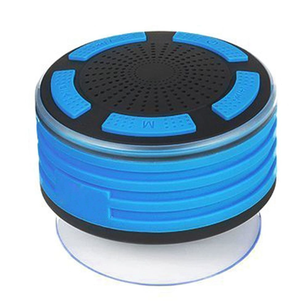 TOOGOO Altavoces Bluetooth, IPX7 Altavoz inalambrico portatil a prueba de agua con radio FM y luces LED de estado de animo, Super Bass y sonido HD para ...