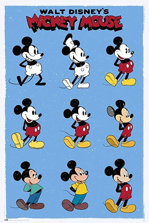 /'DISNEY MICKEY MOUSE/' A4 POSTER PRINT FREE. POSTED WITHIN 24 HOURS