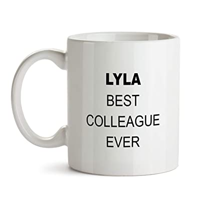 Lyla Best Colleague Ever Gift Mug