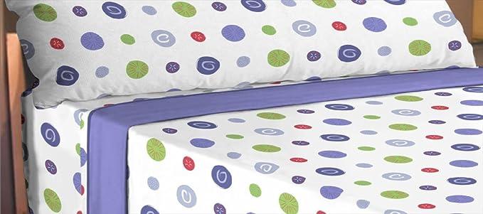 ForenTex - Juego de sabanas de 3 piezas, (LS-4030), cama 90 cm, máxima transpiración y frescura, estampadas, baratas, de microfibras, set de cama.