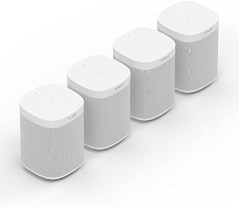 Sonos One Smart Speaker Set - WLAN Multiroom Speaker with Alexa