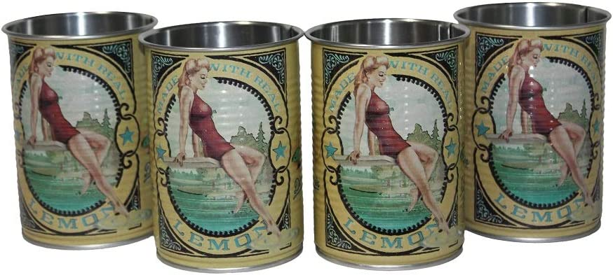 Set of 2 Deep Eddy Lemon Cups