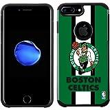 NBA Boston Celtics - Licensed Team Color Texture Case with Center Stripe Design for iPhone 8 Plus / 7 Plus / 6s Plus / 6 Plus