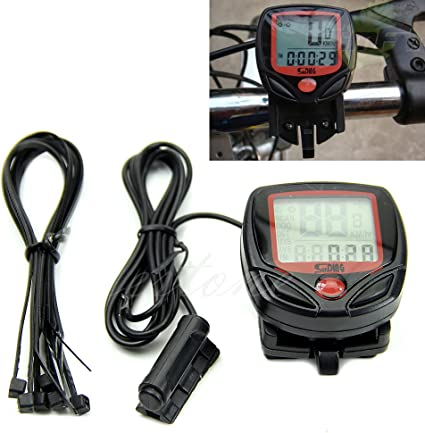 Waterproof Bicycle Bike Cycle LCD Display Digital Computer Speedometer Odometer