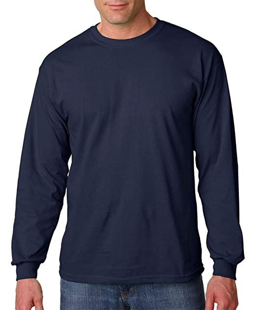 8730e7f1 Image Unavailable. Image not available for. Color: Gildan Heavy Cotton Mens  Long-Sleeve T-Shirt ...
