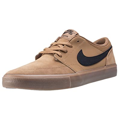 best authentic ever popular picked up Nike SB Solarsoft Portmore II Schuhe Golden Beige/White ...