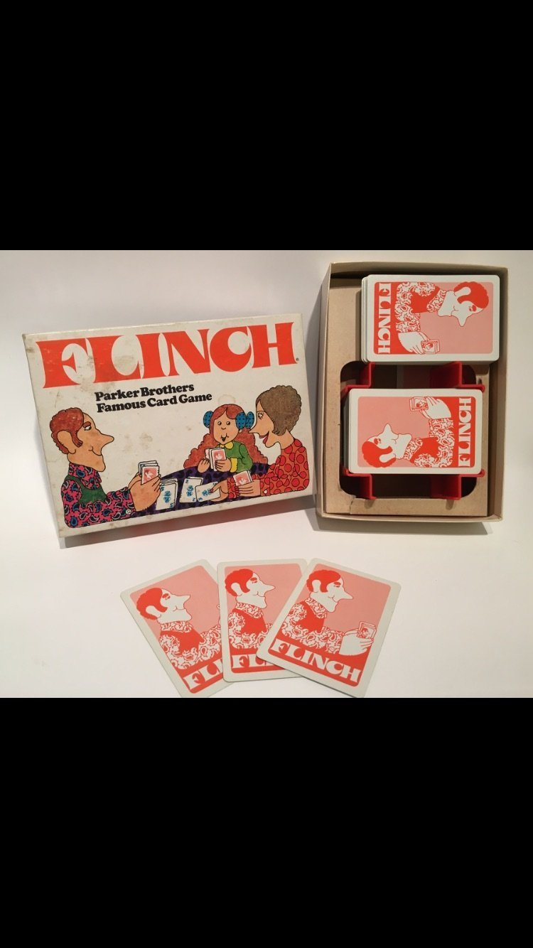 Vintage Flinch Card Game 1976 Edition Parker Brothers by Parker Brothers