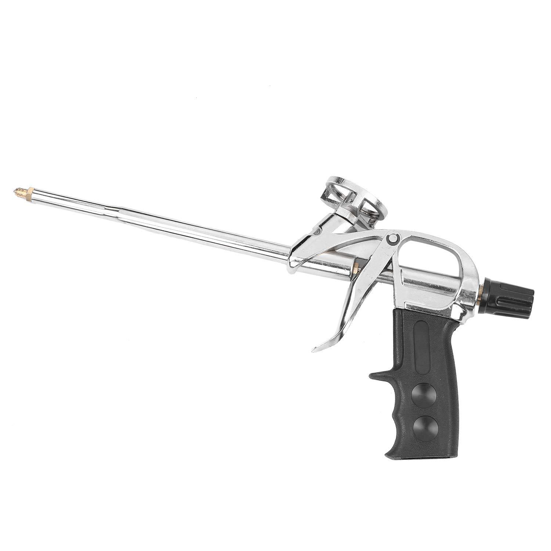 KKmoon Mise /à niveau de pistolet /à mousse Pistolet /à mousse robuste Pistolet /à calfeutrage Mousse expansible pour pistolet pulv/érisateur Mastic de distribution PU Outil disolation applicateur