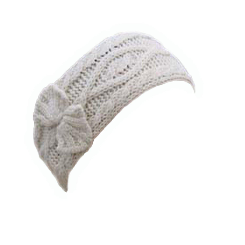 100% Irish Merino Wool Ladies Stylish Aran Knit Head Band by West End Knitwear