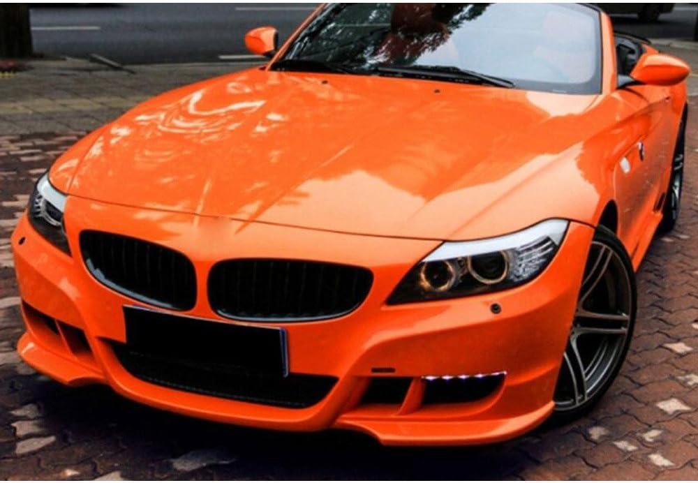 HOHO - Lámina de vinilo para coche, color naranja brillante, 60 x 12 pulgadas: Amazon.es: Electrónica