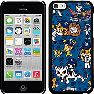 fashion case iphone 5s Black Thinshield Snap-On Case with Detroit Tigers Tokidoki Pattern Design