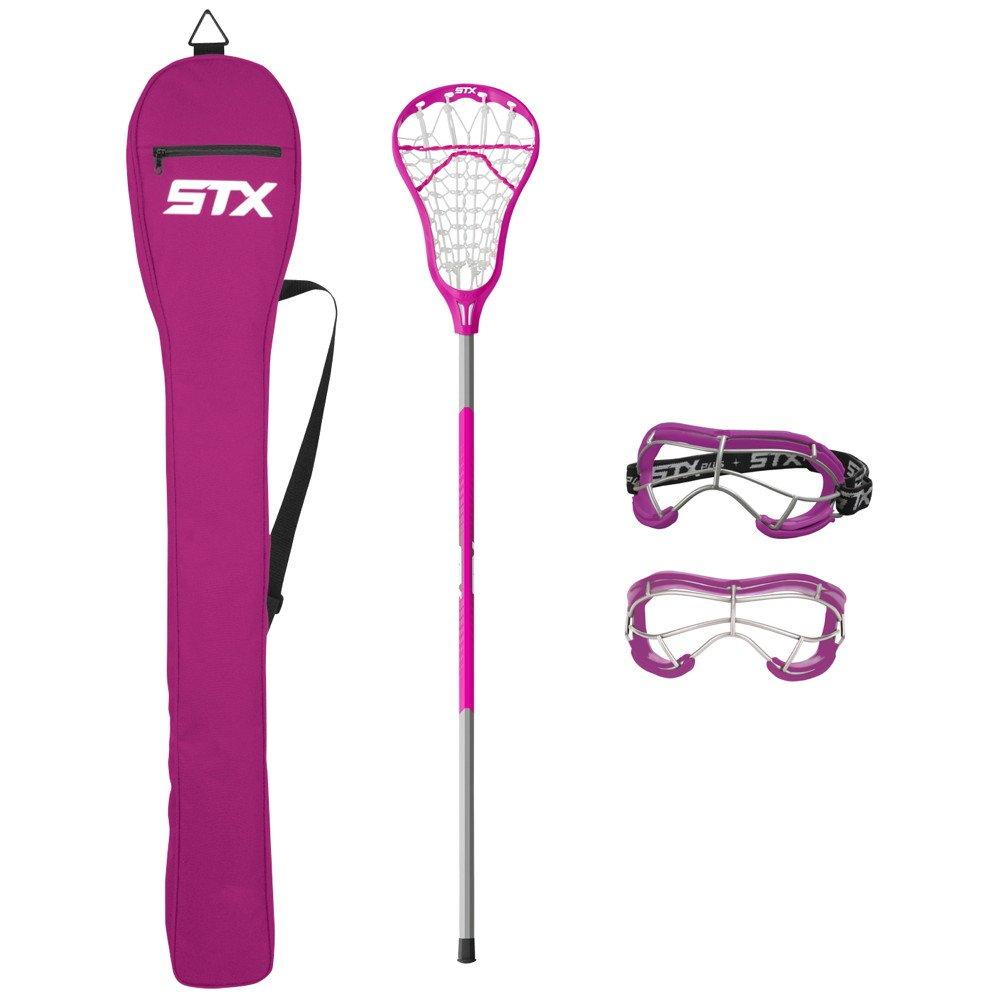 STX Lacrosse Exult 200 Starter Pack Punch/Punch