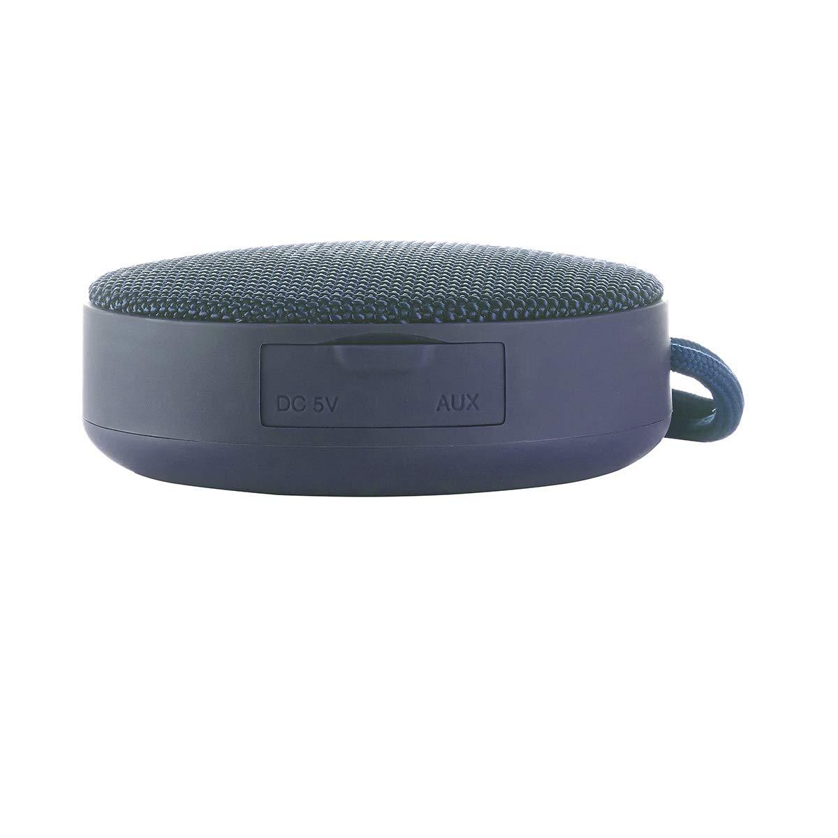 Altavoz inal/ámbrico Vieta Pro Round Up Bluetooth, radio FM, reproductor USB, entrada micro SD, auxiliar, micr/ófono integrado azul