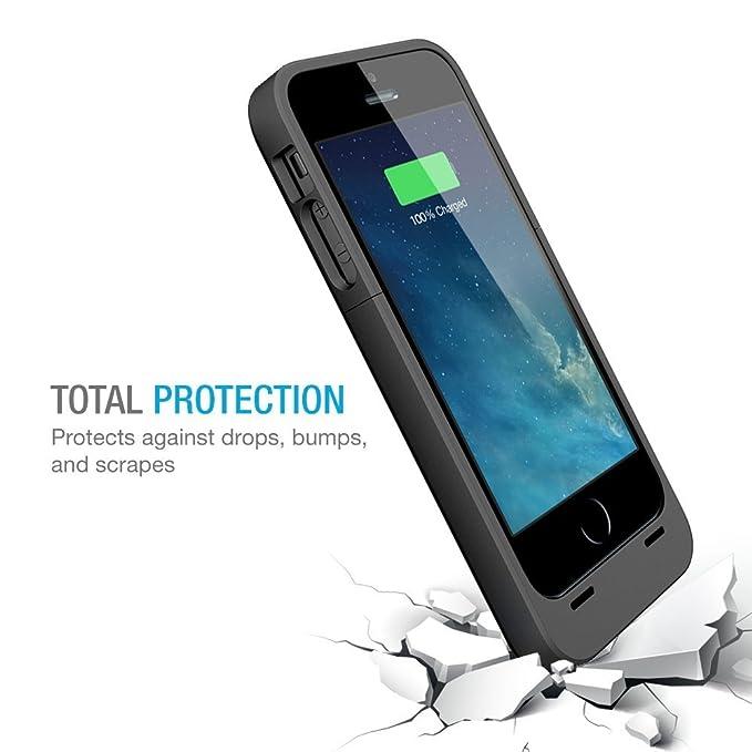 online store c2e47 9ec84 Amazon.com: iPhone 5s Battery case , iPhone 5 Battery case , UNU DX ...