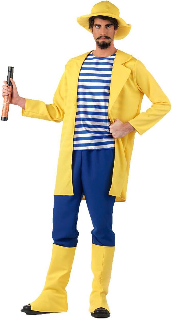 Limit Sport - Disfraz de pescador para adultos, talla L (MA218 ...