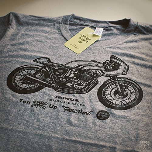 GarageProject101 Honda CB750 Cafe Racer Motorcycle T-Shirt