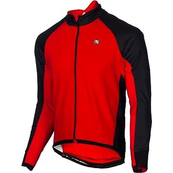 b7923b005370 Giordana FormaRed Carbon Lightweight Men s Jacket Red Black