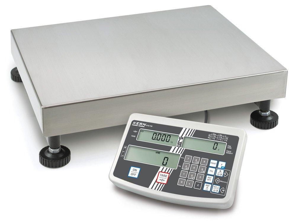 Plataforma Báscula [Núcleo IFS 100 K de 2 m] la Industria BOSCHE con Cómodo Teclado numérico para una entrada de datos Cómoda, rango de pesaje [Max]: 60 ...