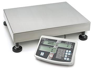 Balanza de plataforma [Kern IFS 60K-2LM] Balanza industrial con cómodo teclado numérico