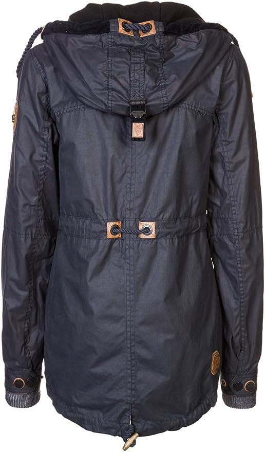 Naketano Damen Jacke Grottenmolch, dark blue, Gr. L: Amazon