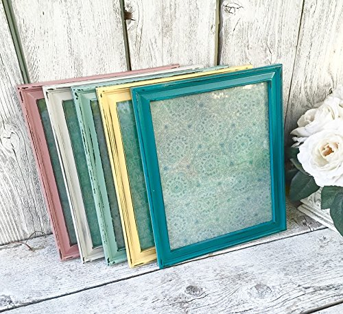 Amazon.com: PASTEL RAINBOW 8 x 10 Frame set - Set of 5 Picture ...