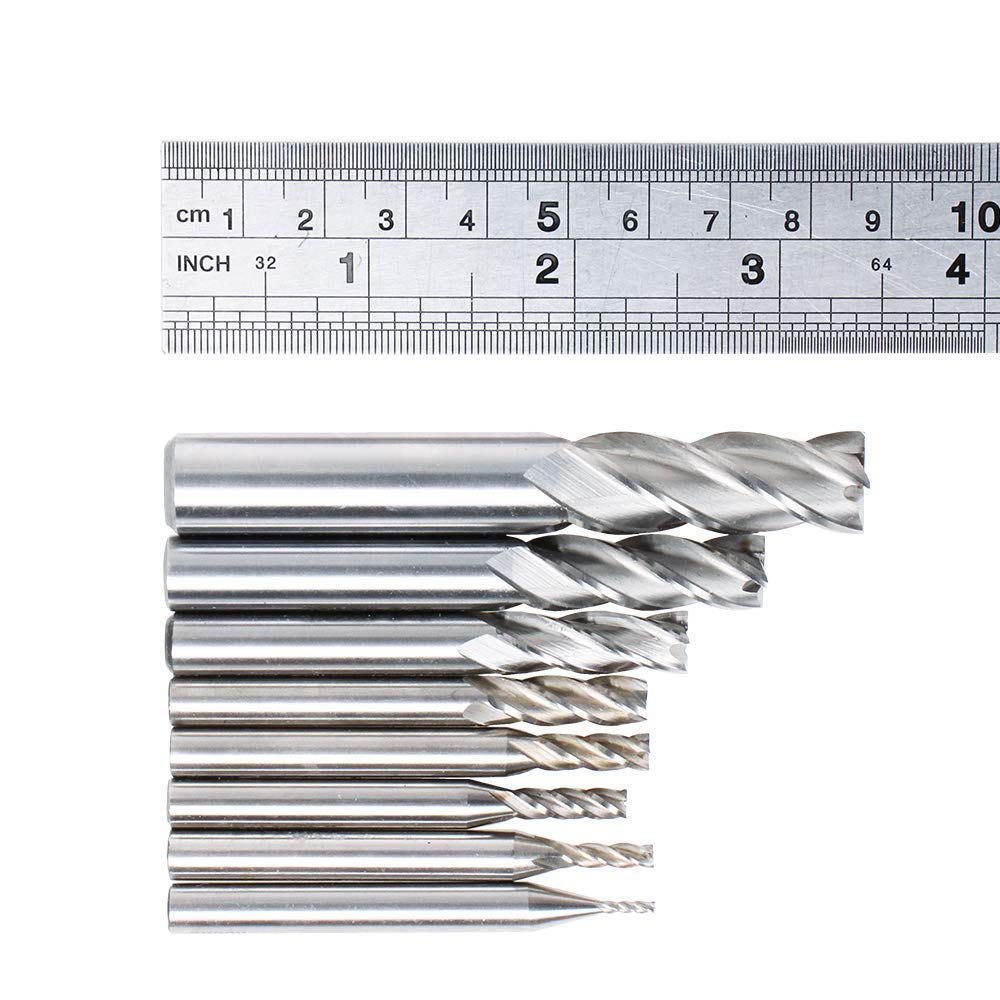 RE13812 Single End Ball Carbide End Mill RedLine Tools 2 Flute 0.1875 AlTiN Coated 1.1250 Flute Length 3.0000 OAL 3//16 30/° Helix Angle