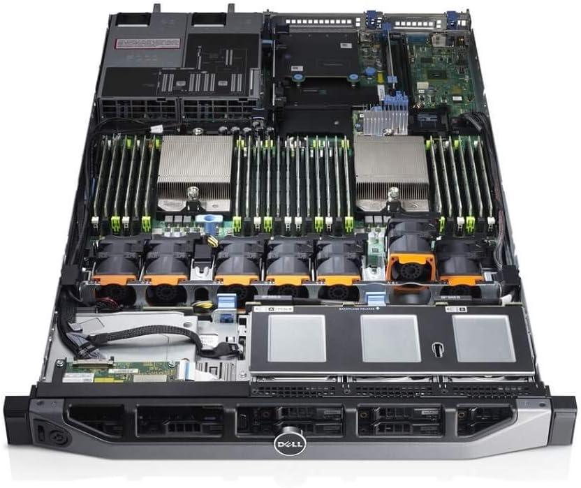 Dell PowerEdge R620 8B SFF 2X E5-2643 Quad Core 3.3Ghz 32GB 2X 146GB H710 (Renewed)