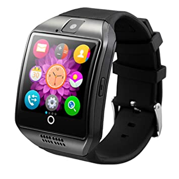Android Smartwatch, Maegoo Bluetooth Smart Watch with SIM/TF Card Slot,  Smartwatch 1 54 Inches with Remote Camera Pedometer Functions for Android
