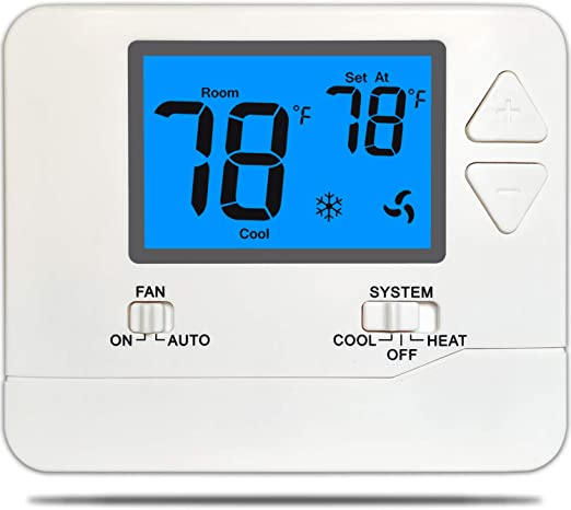 Thermostat 1 Heat / 1 Cool