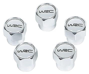 WRC - Kaufmann Neuheiten WR-KFZ-372 - Juego de tapones para tornillos de rueda (aluminio, 5 unidades), color blanco: Amazon.es: Coche y moto