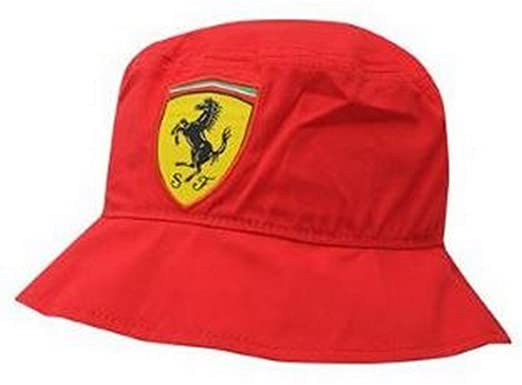 ferrari men for corsa puma rosso hat first bucket accessories red fitted in lyst