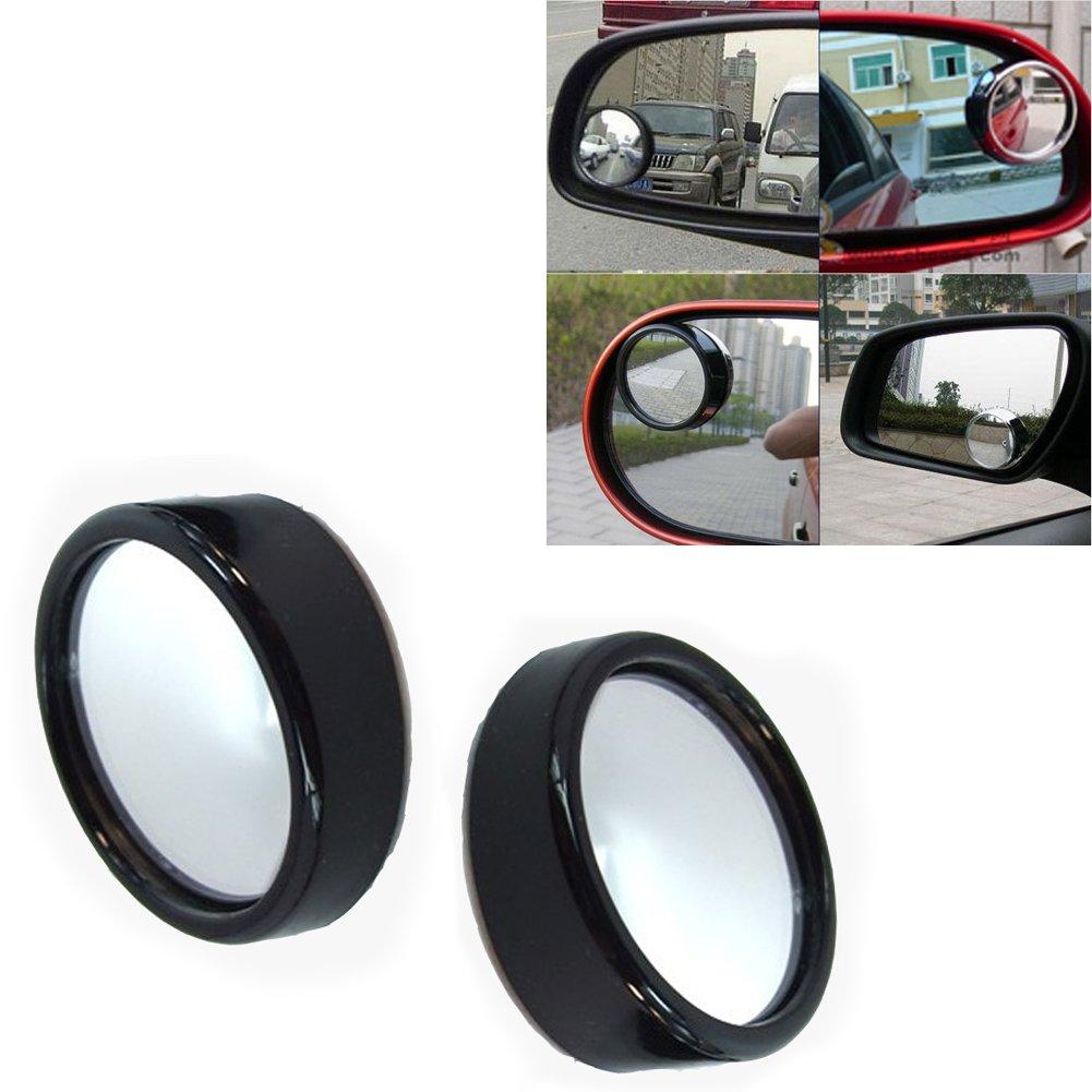2X Auto Winkelspiegel Sicherheitsspiegel Spiegel für Toten Winkel 360° Einstellung Zehui